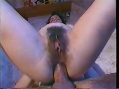 Hot Hairy Anal