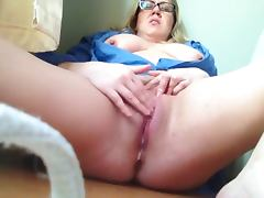 Horny bbw on webcam