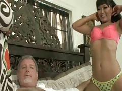 Yuki Mori And Jessica Bangkok White Stepdaddy