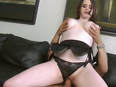 Busty big breasted tessa lane rides cock