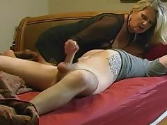 mommy - This MILF is mommy to our stud, so he without hesitation bangs her twat