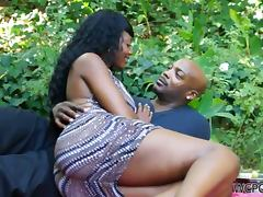 Black, Big Tits, Black, Blowjob, Couple, Cumshot