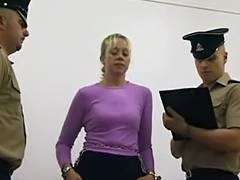 UK Delinquents Stripsearched video