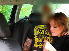 Car, Babe, Banging, Blowjob, Brunette, Car