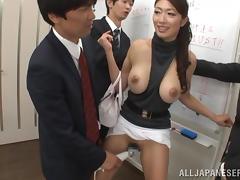 Japanese, Amateur, Asian, Banging, Big Tits, Gangbang