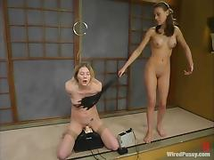 Anal Toying and More Kinky Stuff in Wicked Lesbian BDSM Session