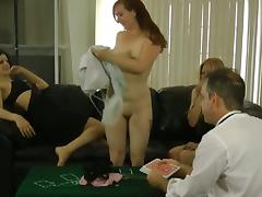 Blackjack loser must strip and masturbate