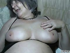 Dirty old slut goes crazy part1