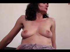 Mother, Anal, Assfucking, Brunette, French, Group
