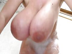 Bathing, Bath, Bathing, Bathroom, Big Tits, Boobs