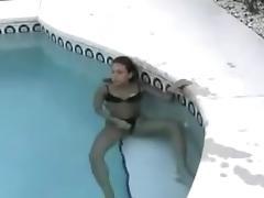 Teen Couple Pool Fuck