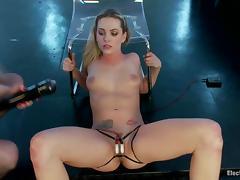 Electro, BDSM, Dildo, Electro, Humiliation, Slave