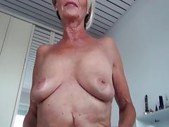 Granny, Blonde, Cunt, Granny, Masturbation, Mature