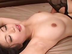 hikari hino, handcuffed thresome, female sub