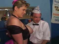Bar, Anal, Babe, Bar, Big Ass, Big Tits