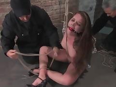 Devaun gets her nipples twitched and tortured hard