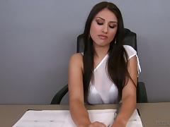 Office, Babe, Blowjob, Couple, Doggystyle, Fucking