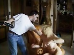 French milf fucked and anal fisted by 2 men