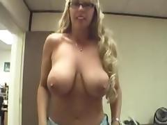 Mommy, Amateur, Blonde, Huge, Mature, Mom
