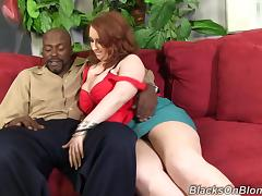 Fabulous Felicia Clover Goes Hardcore With A Big Black Cock