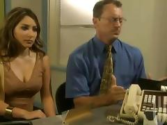 Banging, Banging, Desk, Group, Office, Orgy