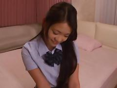 Gorgeous Kana Tsuruta pretty young Asian babe