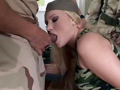 Army, Anal, Army, Blowjob, Bra, Close Up