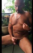 Edging, stroking, Cumming outside