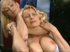Catfight, Big Tits, Catfight, Gym, Lesbian, Reality