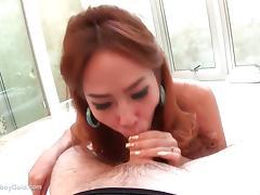 Ladyboy Nong Oiled Bareback