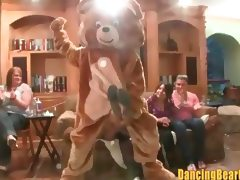 Dancing Bear Orgy at Debs Bachelorette Party