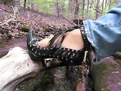 Boots, Boots, German, Heels, Nylon, Outdoor