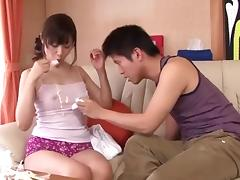 Mom and Boy, Asian, Cuckold, Japanese, Mature, Nipples