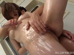 Japanese, Asian, Babe, Bath, Bathing, Bathroom