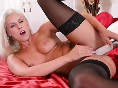 All, Blonde, Dildo, Fucking, Masturbation, Pornstar