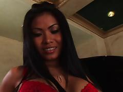 Priva gets dick in her tight pussy and asshole before eating cum